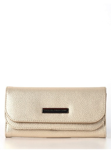 Polo Racouet Club Clutch / El Çantası Bej